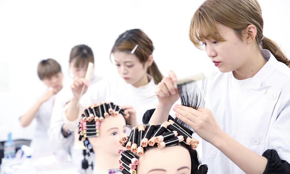 美容師免許授業
