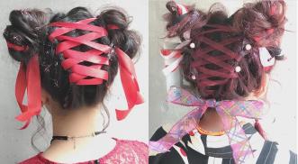 【ヘアアレンジ体験】オシャレスタイリストMOTAIさん来校!Instagramのフォロワー数2万人超え!リボンを使った可愛いヘアアレンジを教わろう♡